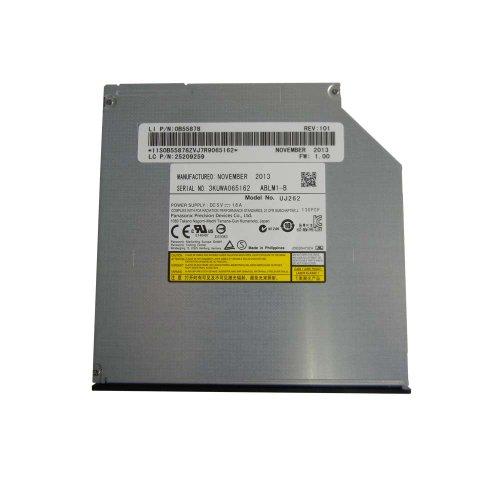 Panasonic UJ-262 Blu-Ray/DVD/CD Brenner 9.5mm Ultra Slim SATA internal Laufwerk für Acer Aspire 4810T 5534 5810T 5810TG 5810TZ Lenovo IdeaPad Y500 Y510P Dell Latitude E4310 E6320 E6400 E6410 E6420 E6500 E6510 E6520 Dell Precision M2400 M4400 M4500 M6400 M6500 M6600 Dell Vostro 3300 ,PowerEdge 2970, PowerEdge R810 Sony VAIO VGN-SR190 VGN-SR41M/S SR590GXB VGN-Z520NIB VPCZ122GX Toshiba Portege M750-S7201 U405-S2856 U405D-S2902 Toshiba Satellite U505-S2940 U505-S2950.