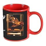 Printland Stay Happy Red Coffee Mug 350 - ml
