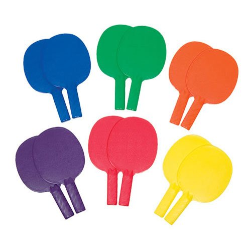 Gamecraft Table Tennis 1 Piece Paddles (One Dozen)