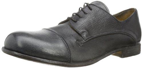 MOMA Mens bicolor derby Lace-Ups Gray Grau (grigio-nero) Size: 9 (43 EU)