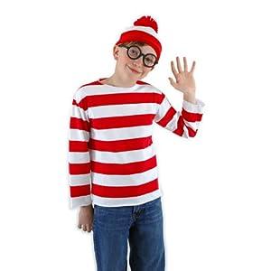 Where Is Waldo Costume For Kids