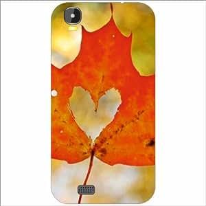 intex aqua speed Back Cover - Silicon Leaf Designer Cases
