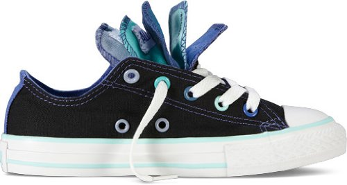 Converse Chuck Taylor Multi Tongue Junior Ox Shoes - Black / Multi
