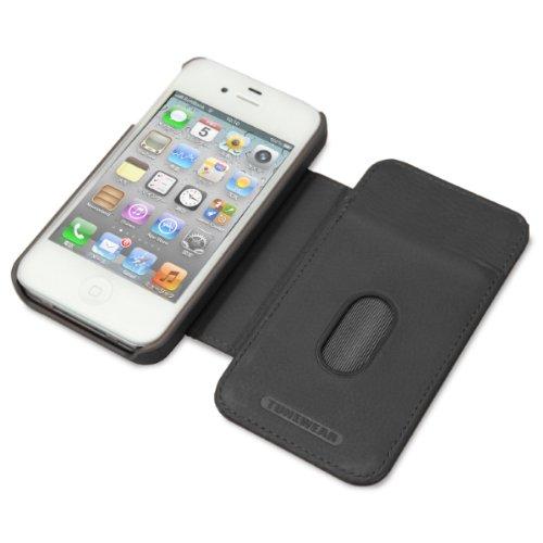 【正規品】 TUNEWERE TUNEFOLIO for iPhone 4S/4 ブラック TUN-PH-118