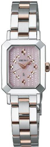 [セイコー]SEIKO 腕時計 LUKIA ルキア ソーラー パウダリーピンク SSVR051 レディース
