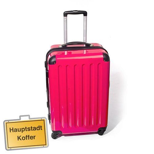 HAUPTSTADTKOFFER® · Hartschalenkoffer MAGENTA