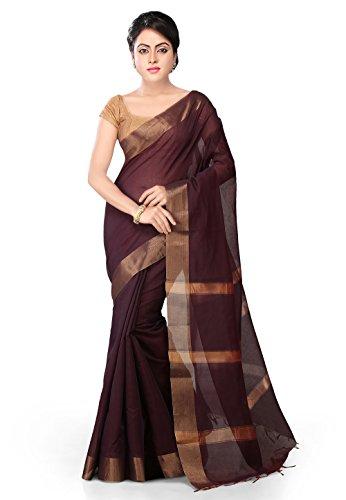 ae02ddd859 Utsav Fashion Women's Pink Pure Banarasi Silk Handloom Saree with ...