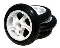 145 mm Urethane Cruiser Wheels-Black/White