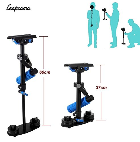 LEAPCAMA Camera Stabilizer Steady Cam DV DSLR Hand-held Video Support Rig Maximum to 60cm Height Steadycam