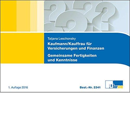 kaufmann-frau-fur-versicherungen-und-finanzen-lernkarten-abschlussprufung-modul-gemeinsame-fertigkei