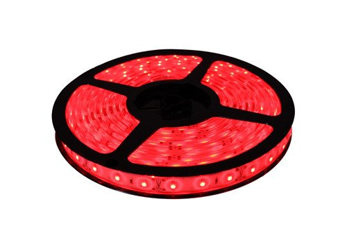 Cbconcept 12V60Smd3528-Ip67/5M-R Waterproof Ip67 Low Voltage 12 -Volt Smd3528 Flexible Led Strip Light, 16.4-Feet Spool, Red