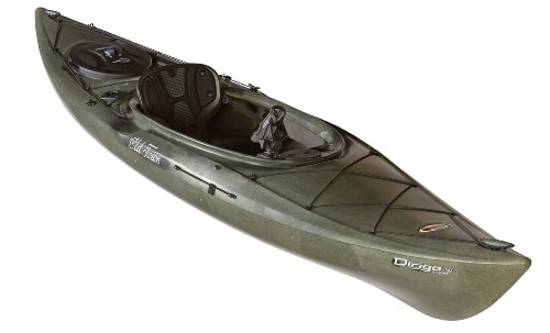 Old Town Canoes Kayaks Dirigo 120 Angler Recreational Fishing Kayak
