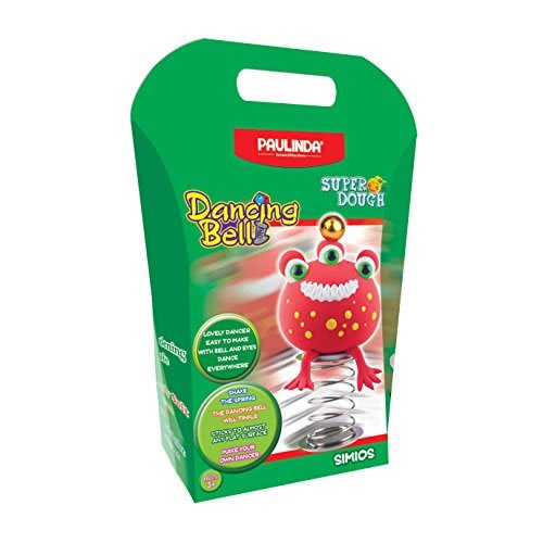 Paulinda Super Dough Simios Dancing Bell Art Kit