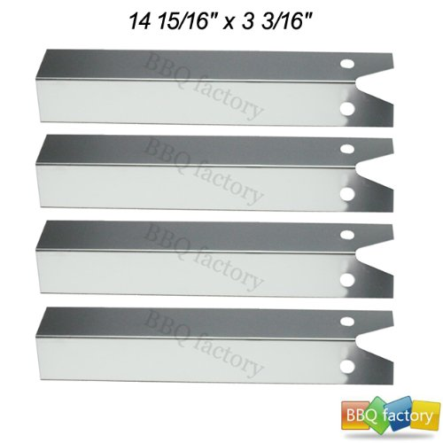 90151(4-Pack) Stainless Steel Heat Plate For Great Outdoors, And Uniflame Grills