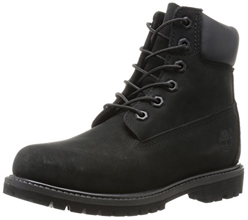 comparamus timberland damen 6 6in premium boot w kurzschaft stiefel schwarz black waterbuck. Black Bedroom Furniture Sets. Home Design Ideas