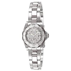Invicta Sapphire Lady Diver Light Gray Dial Watch 7066