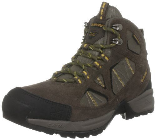 Hi-Tec Men's V-lite Arran Wp Dark Chocolate/Dark Taupe/Saffron Hiking Boot O001398/042/01 10 UK