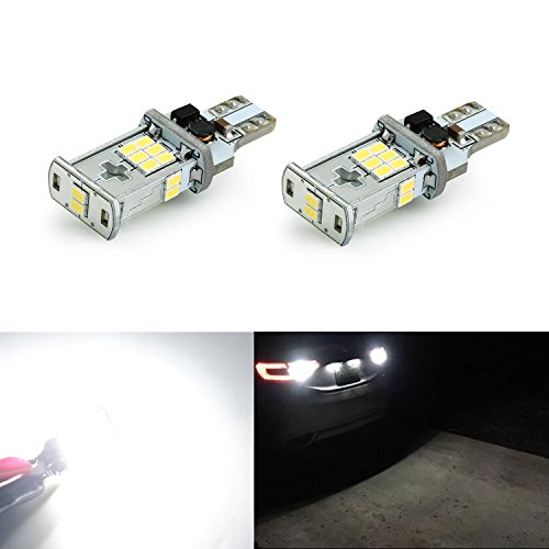 JDM ASTAR 1000 lumens Extremely Bright Error Free 360-Degree Shine 921 912 GX-3020 Chipsets LED Bulbs For Backup Reverse Lights, Xenon White (Backup Light Led compare prices)