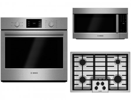 Bosch 3-Piece Stainless Steel Kitchen Package with HBL5351UC 30