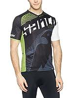 Santini Camiseta Técnica Forge (Negro / Verde)