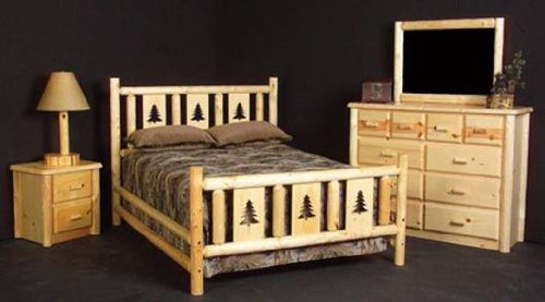 Viking Log Furniture Montana Headboard