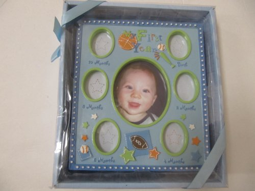 Baby My First Year Milestone Photo Frame