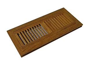 Brazilian Teak Cumaru Prefinished Wood Floor Vent Register