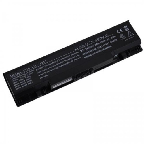11.1V 6 Cells High Capacity Battery for Dell Studio 17, Studio 1735, Studio 1737 Series, Brand New, Repalce for 312-0711 312-0712 KM973 MT342 PW853 RM791