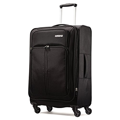 American Tourister Splash LTE Spinner 24 Suitcases, Black