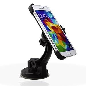 Bestwe KFZ-Halterung für Samsung Galaxy S5 drehbare Autohalterung Handyhalterung mit Kugelgelenk