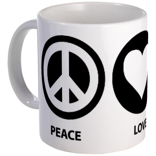 Peace Love Squirrel Mug Mug By Cafepress