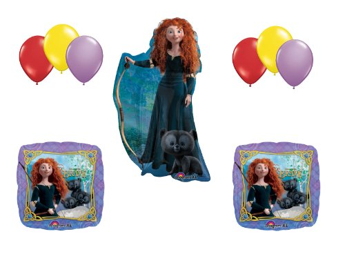 Brave Merida Disney Movie Birthday Party Supplies Balloons Decor Set
