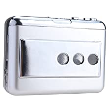 buy Toogoo(R) Portable Lp Vinyl Tape To Pc Dual Hybrid Usb Cassette-To-Mp3 Converter Capture With Usb 2.0 All-In-One Card Reader