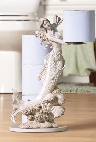 Mermaid Toilet Paper Holder By Collections Etc Toilet