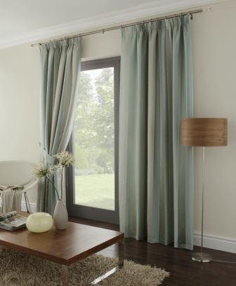 Karok Curtains in Duckegg 64x90