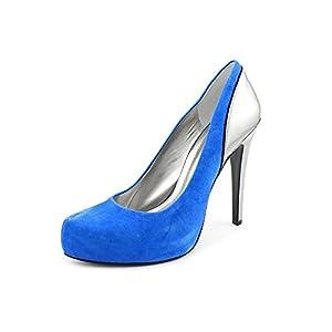 BCBGeneration Women's Paeyton,Ultra Blue/Magnet Kidskin Suede/Mirror Metallic,US 9 M