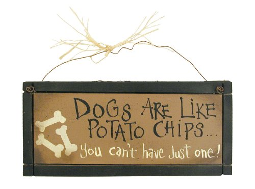 Ohio Wholesale Never Enough Dogs Sign Wall Art, from our Cats and Dogs Collection