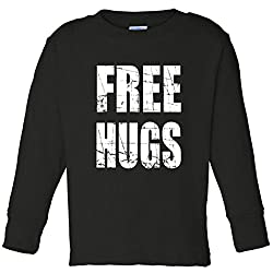 Free Hugs Toddler Long Sleeve T-Shirt