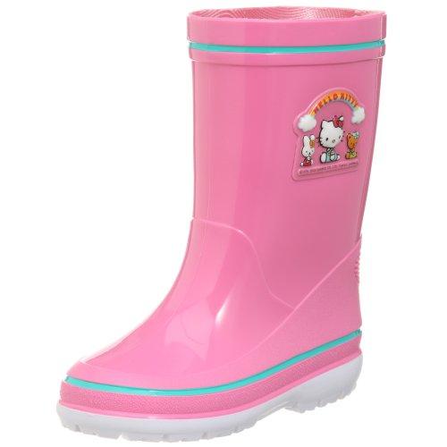[Asahi] ASAHI children's Hello Kitty rain boots H/KR281 KL38472 pink (pink / 19)