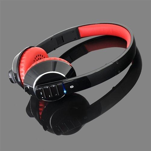 Bluetooth ブルートゥース 高音質ヘッドホン ワイヤレス Meelectronics Air-Fi-AF32 スマホ対応 (黒+赤)
