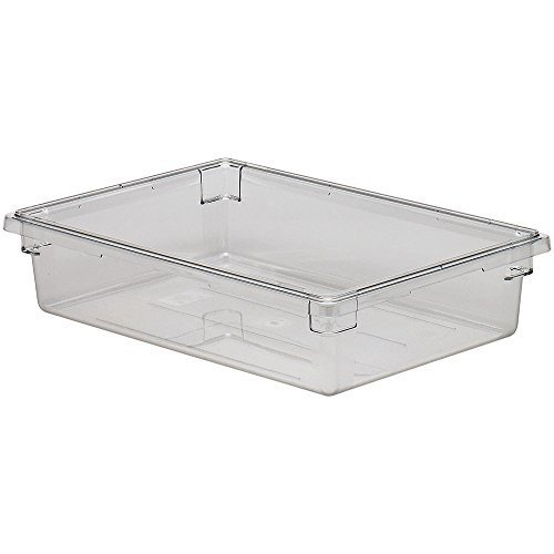 Camwear Food Storage Container, 18'' X 26'' X 6'', 8.75 Gal. Capacity, Polycarbonate, Dishwasher (6 Pieces/unit) By Cambro