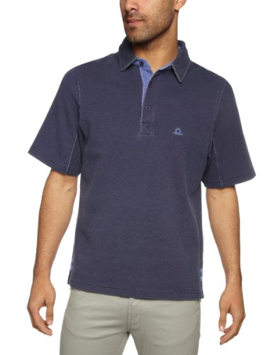 Chatham Marine Reef Polo Mens T-Shirt Navy Small