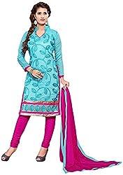 Shyam Suits Women's Cotton Unstitched Salwar Suit (LUCKY041)