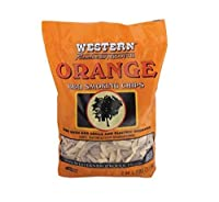 Western Smoking Chips Citrus Fruity 2.25 Lb. (2 Bags) from WW Wood