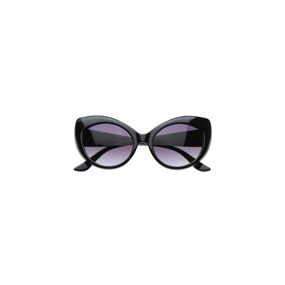 6e3eafa3bf Vintage Inspired Super   Bold Retro Designer Cat Eye Sunglasses on ...