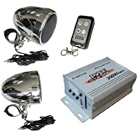 Pyle PLMCA40 100 Watt Motorcycle/UTV Speaker and Amplifier system