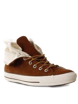 Converse Womens Two Fold Hi Sneaker, 37 Monk´s Robe