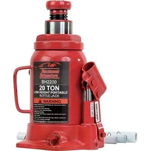 Blackhawk BH2200B Bottle Jack (20 Ton Hydraulic Side Pump)