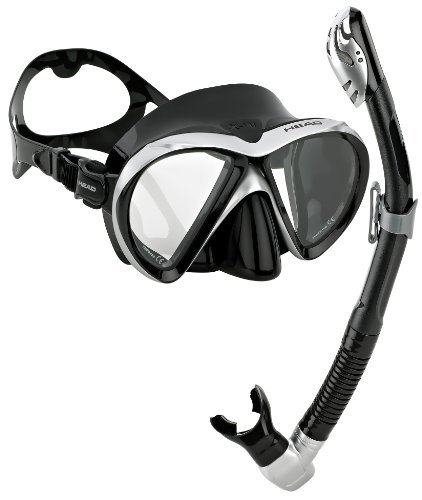 Head by Mares Scuba Snorkeling Dive Mask Dry