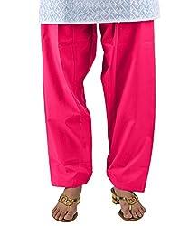 Neha Fashion Women's Regular Patiala Salwar Pant ( Pink )